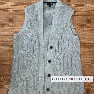 Tommy Hilfiger Wool Blend Knit Vest (M)